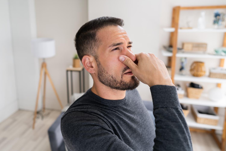 odeur d'égout dans la maison